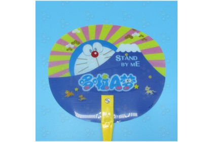 [Ready Stock] Hand Fan Colourful Cartoon Fan Indoor Gift for Party Event Function Hot Season