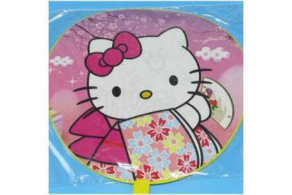 [Ready Stock] 16'' Hand Fan Cartoon Fan for Party Event, Bon-odori, In/Outdoor Gift