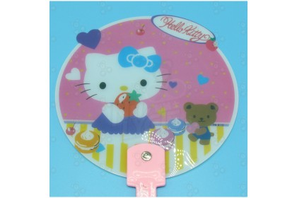 [Ready Stock] Hand Fan Colourful Small Cartoon Fan Indoor Gift for Party Event Function Hot Season