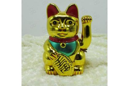 [Ready Stock] 10'' Chinese Fortune Waving Cat Lucky Prosperous, Wealth is abundant- 新年招財貓,招財金寶,生意欣榮,財源廣進