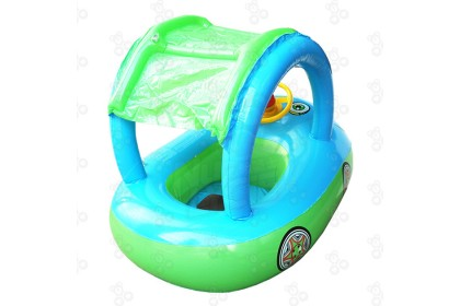 [Ready Stock] 85*61cm Car Boat Swimming Ring - Swimming Pool Ring for Children Play at Swimming Pool or Beach