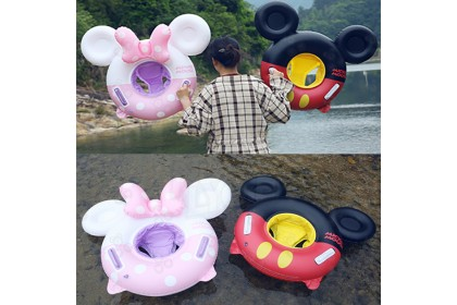 [Ready Stock] Cute MK Swimming Ring - Swimming Pool Ring for Children Play at Swimming Pool or Beach