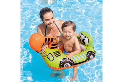[Ready Stock] Cute Animal, Transport Swimming Ring - Swimming Pool Ring for Children Play at Swimming Pool or Beach