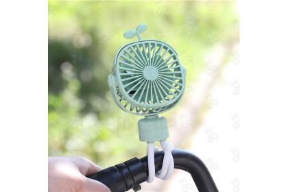 [Ready Stock] Handheld Fan Mini Fan Tripod 手持风扇迷你风扇三脚架 (USB Charging) (no warranty)