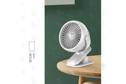 [Ready Stock] 2 Way Rotate 360 degree USB MINI CLIP FAN 迷你夾子風扇 (USB Charging) (no warranty)