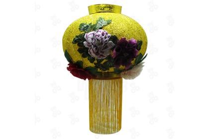 [Pre-Order] LAN21-7 -60cm CNY 3D Embroidery Peony Lantern 3D刺绣牡丹灯笼特別設計款 (Custom Made) 1pcs