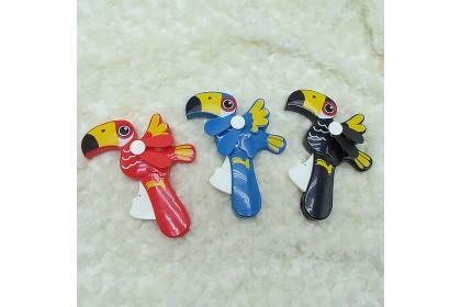 [Ready Stock] Bird Hand Pressure Fan Manual Windy Mini Hand Fan 便携式卡通手压风扇 Kipas Tangan 1pcs