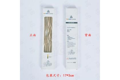 [Ready Stock] Curve Fashion Candle 曲线生日蜡烛  (1pack 6pcs)