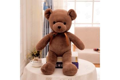 [Ready Stock] 30cm Retro Ribbon Teddy plush doll 复古款彩丝带泰迪毛绒娃娃