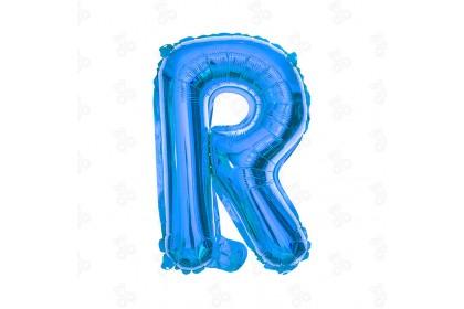 """[Ready Stock] 16"""" Alphabet A~Z Party Foil Balloon [Blue] 1pcs"""