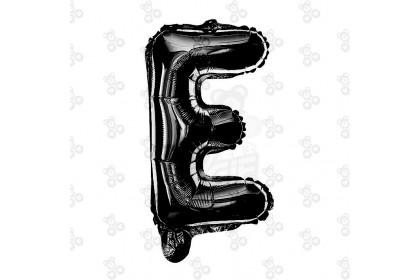 """[Ready Stock] 16"""" Alphabet A~Z Party Foil Balloon [Black] 1pcs"""