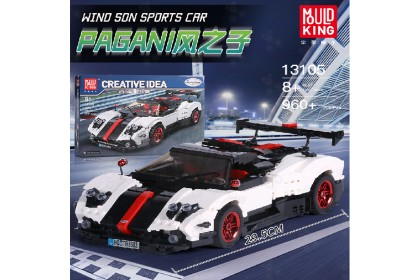 [Ready Stock] 宇星模王积木 Mould King 13105 Sports Car Bricks Blocks