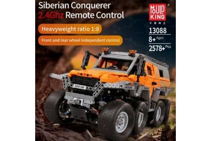 [Ready Stock] 宇星模王积木 Mould King 13088 Remote Control RC Siberian Conquerer Bricks Blocks 2578 pcs