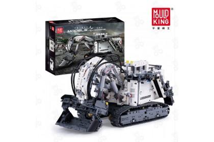 [Ready Stock] Mould King 13130 Libo Kaiyu-RH400 Excavator Remote Control Vehicle Bricks Blocks 4062 pcs