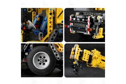 [Ready Stock] 宇星模王积木 Mould King 13107 Mechanical Crane Remote Control RC Vehicle Bricks Blocks 2590 pcs