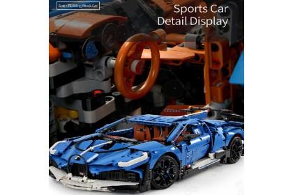 [Ready Stock] 宇星模王积木 Mould King 13125 Technic Race Sports Car Model Dwo Bricks Blocks 3858pcs