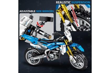 {Ready Stock] Sembo Block Technique 701703 Model Dueati Motor Bike Vehicle Toys Bricks 702pcs
