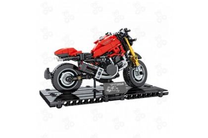 [Ready Stock] Sembo Block 701103 Enjoy The Ride TechinqueDCTI 1200 Motorcycle Vehicle Brick 273pcs Toy Gift Ideas