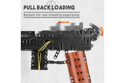 [Ready Stock] Mould King 14011Mauser C96Block Shooting Toy Building Bricks Decoration Idea Boy Girl Gift 368 pcs