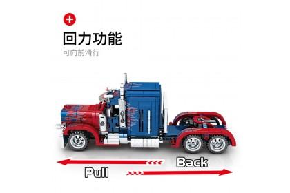 Sembo No.701803 Technique Petorblt Truck Car Toys Bricks 849pcs