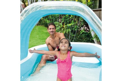 Intex Inflatable Cabana Swimming Centre Pool IT 57198NP