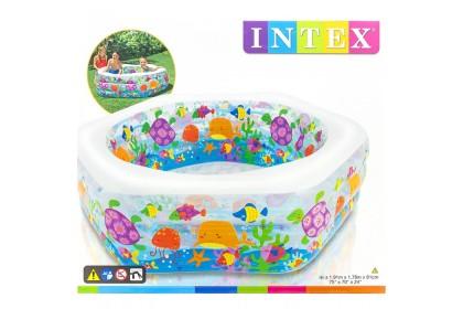 Intex Ocean Reef Pool 1.91m x 1.78m x 61cm IT 56493NP