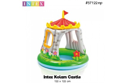 Intex 122x122cm The Royal Palace Inflatable Baby Pool IT 57122NP