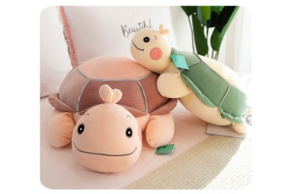 (Ready Stock) 80cm Cute Turtle Stuffed Toy Plush Toy Doll Gift