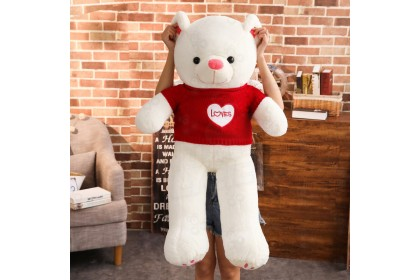 (Ready Stock)140cm Big Plush Sweet Teddy Bear Birthday Present Best Gift Stuffed Toy Plush Toy Doll
